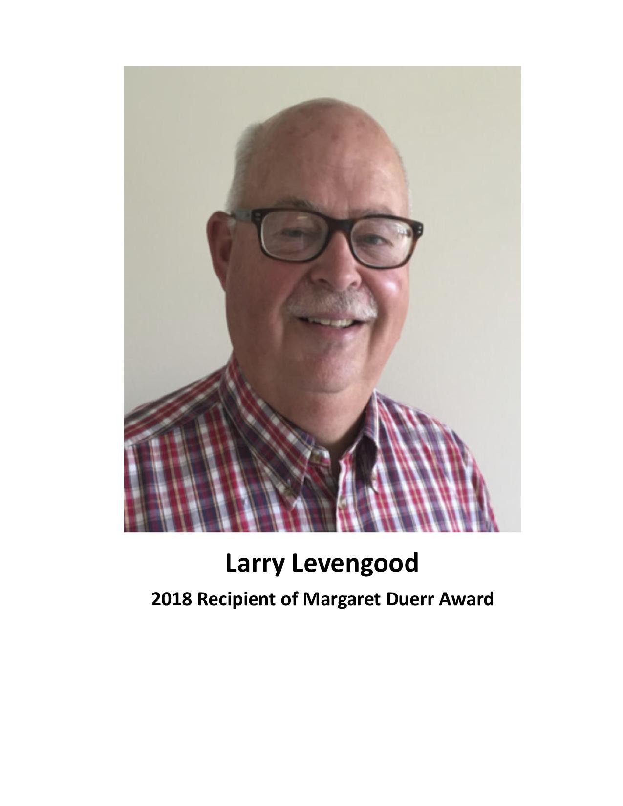 Levengood-2018-Duerr-Award
