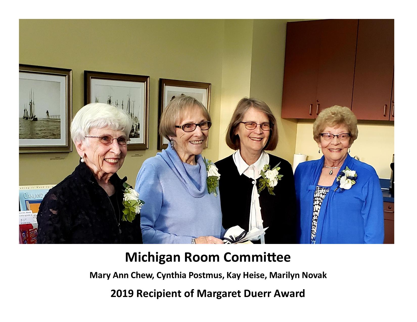 Michigan-Room-Committe-2019-Duerr-Award